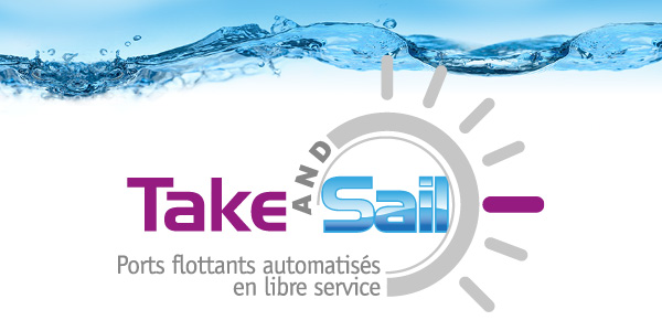 Take And Sail - port à sec flottant automatisé en libre service